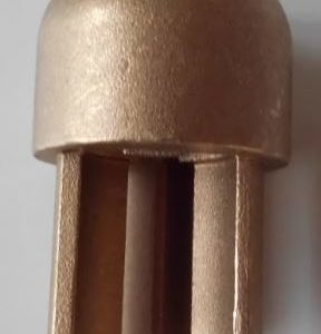 Brass Pole Top Insert 34mm