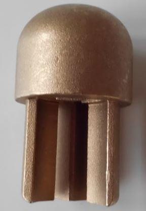 Brass Pole Top Insert 34mm