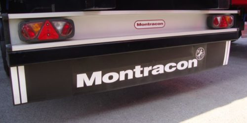 Rear Valance Assembley with Montracon Logo