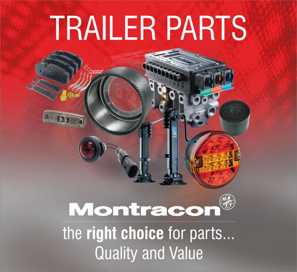 Witness the Quality and Value of Montracon's Trailer Parts